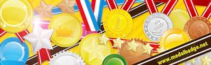 メダル・バッジ素材  商用可能・無料