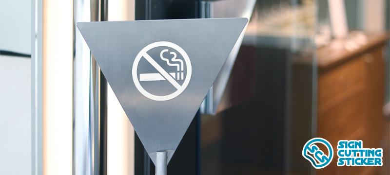 禁煙マークプレート
