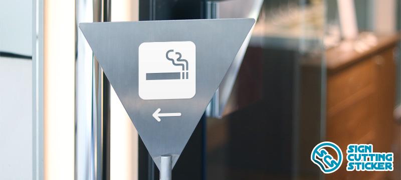 喫煙スペースマークプレート